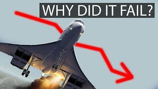Why did the CONCORDE fail?! What's the future?