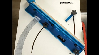 the Rockler cross cut sled   (table saw sled)