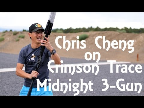 Chris Cheng discusses his strategies for the Crimson Trace Midnight 3-gun event - Guns.com