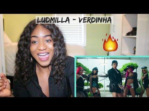 Ludmilla - Verdinha (Official Music Video) | REACTION