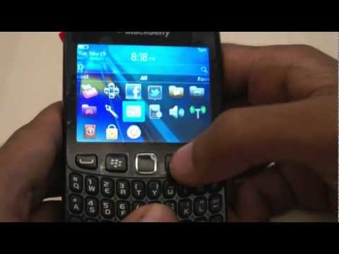 BlackBerry Curve 9220 Hands-On (2)