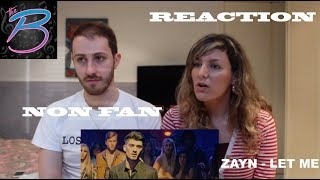 Download Lagu ZAYN - LET ME MUSIC VIDEO *NON FAN* REACTION!!!! [THE BABES] Gratis STAFABAND