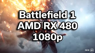Battlefield 1 Beta - i5-6402p - RX 480 - $720 Gaming Computer - Benchmark