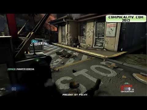Descargar e Instalar:Splinter Cell Blacklist PC Full Español 2013