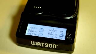 Watson Dual Position Battery Charger Review For DSLR Video Shooting