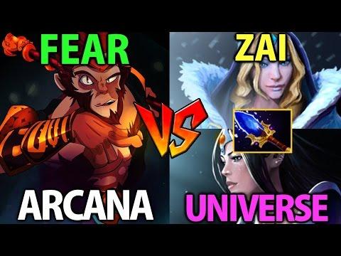 Fear [Monkey King] vs Universe & Zai- Dota2 Patch 7.00: Let's Have Fun