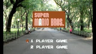 Super Mario Bros Recreated as Life Size Augmented Reality Game