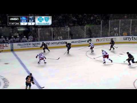 Andrej Sekera Shifts vs. Rangers - March 12/13 (RAW)