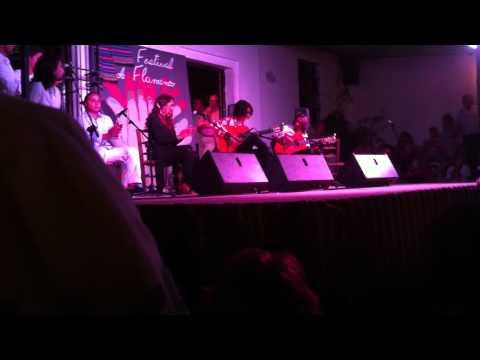 Tomatito hijo por bulerias en el festival flamenco de Fondon 2012