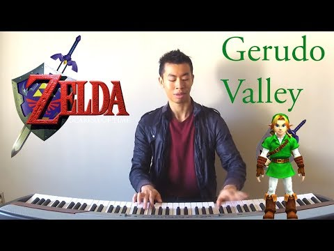 Misc Computer Games - The Legend Of Zelda Ocarina Of Time - Gerudo Valley Theme