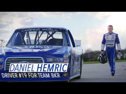 Daniel Hemric Races Michigan International Speedway