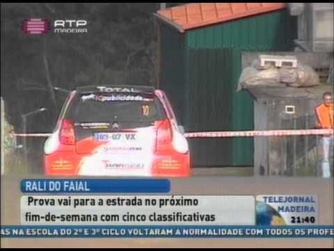 Reportagem RTP Rali do Faial 2014