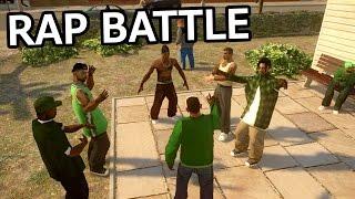 GTA IV - CJ vs OG Loc [Rap Battle]