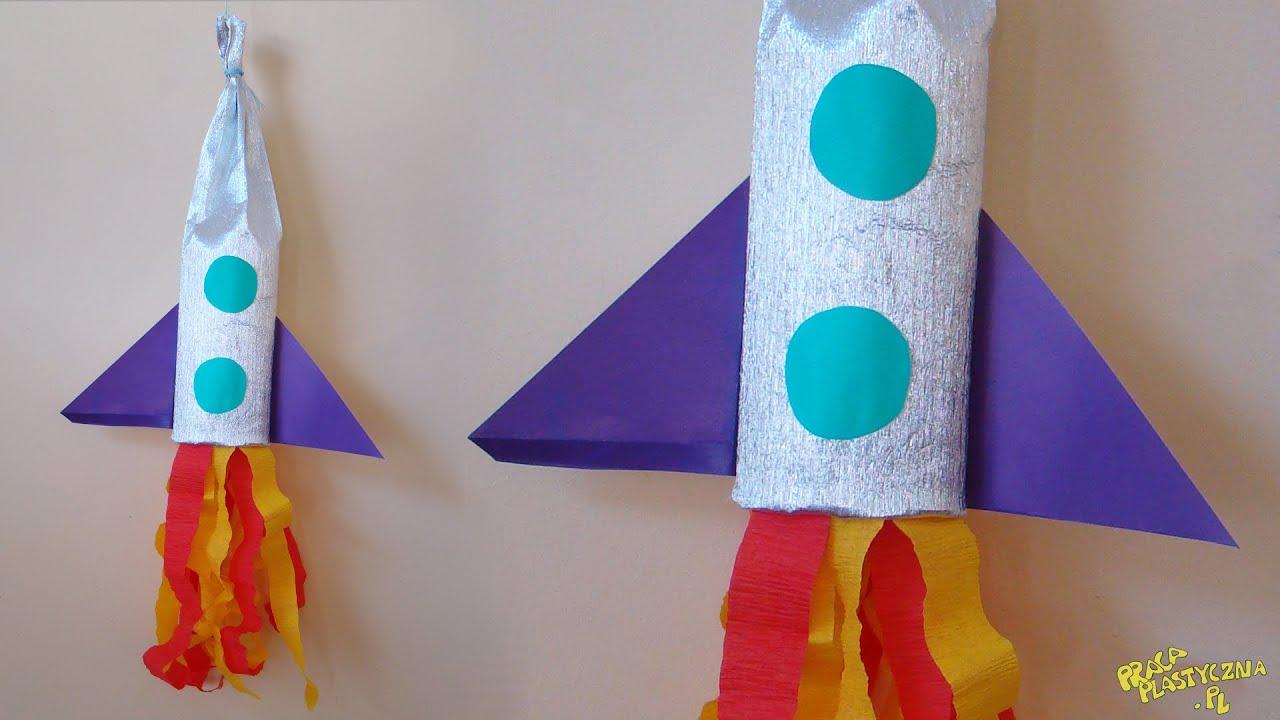 Как сделать ракету своими руками из картона, бутылки, бумаги 49