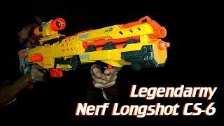 Legendarny Nerf Longshot CS 6 - recenzja ekajtek.pl i nerfoteka.pl