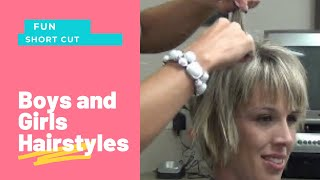 How to Style Stacked Short Layered Hairstyles | Stacked Haircuts