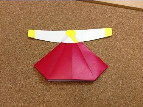Оригами по корейски
