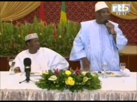 Mort d'un soldat burkinabé au Mali: le President reçoit les condoléances du Mali et des Etats-Unis