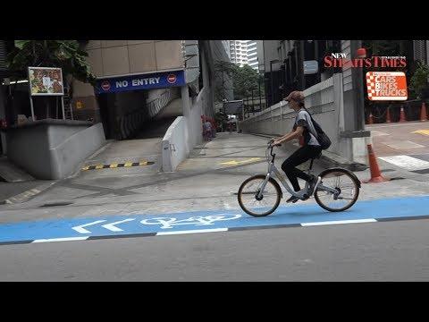 Malaysian Mentality meets Bicycle Lanes