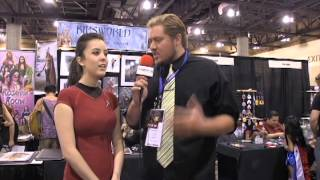 Monika Lee talks Star Trek at Phoenix Comiccon 2013