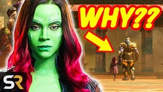 10 Infinity War Plot Holes That Slipped By Fans