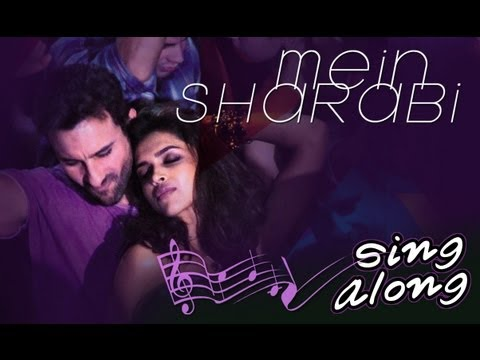 Mein Sharabi With Lyrics (Karaoke) | Cocktail | Saif Ai Khan, Deepika Padukone & Diana Penty