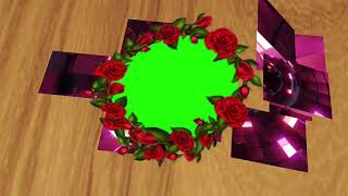 Wedding Green screen effects HD Video 86/New 3D circle green background effects 2020