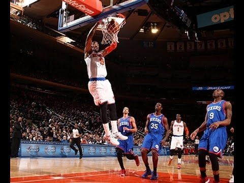 J.R. Smith Bangs Home the High-Flying Alley-Oop