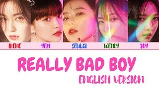 Red Velvet 레드벨벳 39 Rbb 39 Really Bad Boy English Version Eng Color Coded 가사