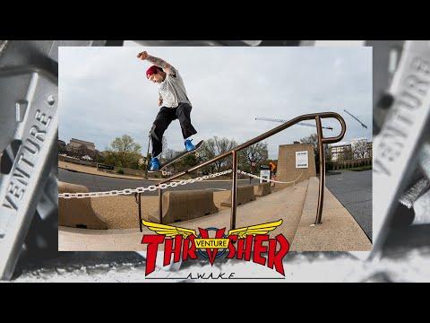 Venture x Thrasher Collab Video