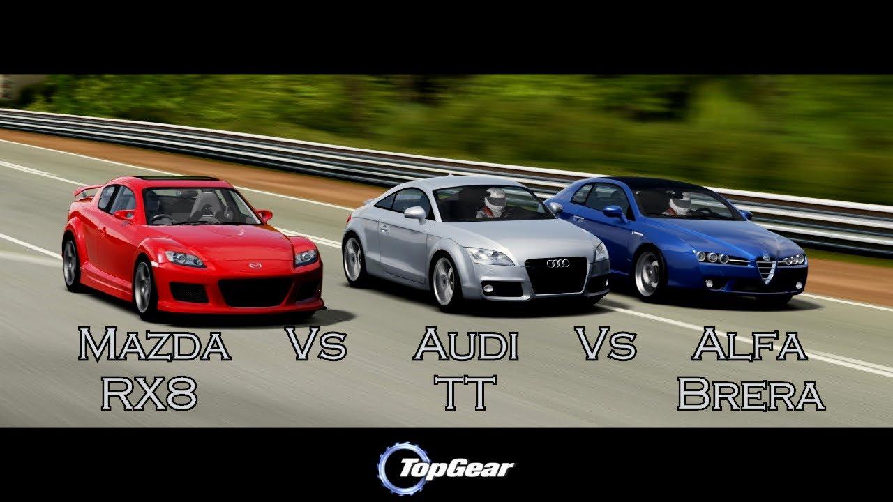 Forza Motorsport 4 Battle S2E15 Alfa Brera Vs Mazda
