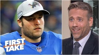 Matthew Stafford is overrated and he's barely a franchise QB - Max Kellerman | First Take