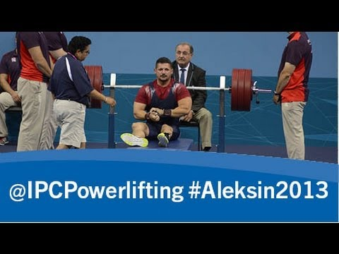 Powerlifting- men's -80kg - 2013 IPC Powerlifting European Open Championships Aleksin