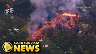 Hawaii Volcano Eruption Update - Sunday Evening (May 6, 2018)