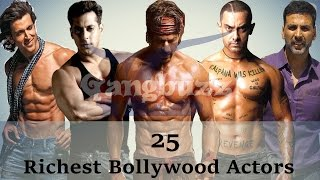 download lagu Richest Actor In Bollywood - 25 Richest Bollywood Actors gratis