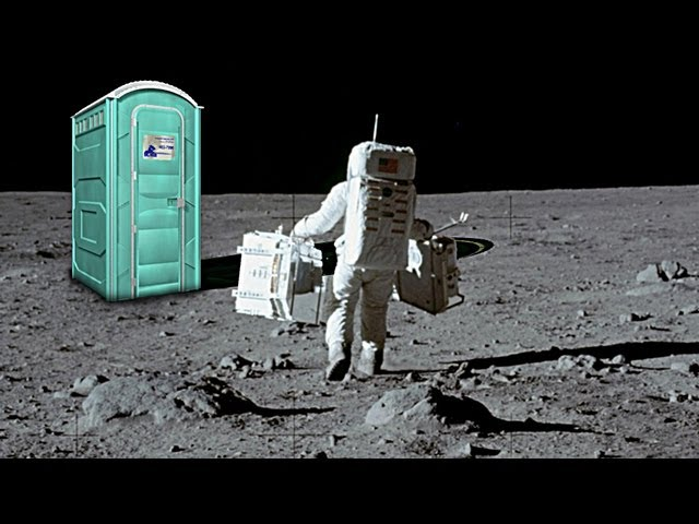 Is There Poop on the Moon? ft. Smarter Every Day
