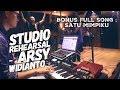 Lagu STUDIO REHEARSAL (Arsy Widianto) #VLOGBANG eps 6