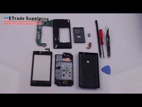 Nokia Lumia 520 Disassembly for Screen Replacement