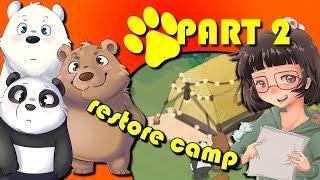 We Bare Bears | Match3 Repairs | (#2) | Prepare the Camp | Camp
