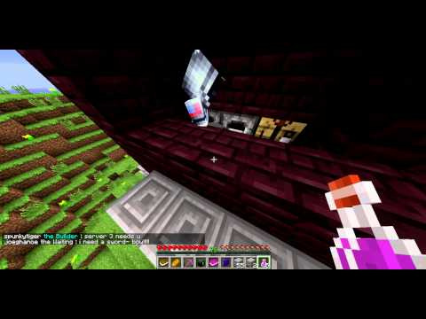 Hao Zhi w/Cheerry Playing Dwarves vs Zombies (server) - Minecraft