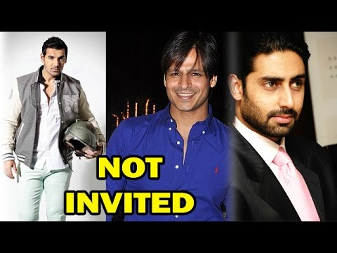 Bollywood Stars Who Were Not Invited By Salman Khan! - Exclusive video