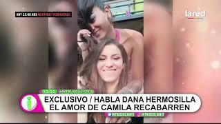 """""""Era un secreto a voces"""": Camila Recabarren y la exposición de su amor que hablamos en Intrusos"""
