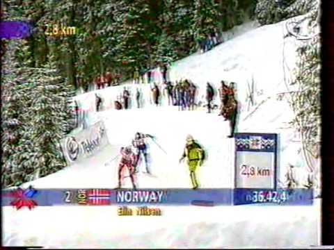 1997 WSC Trondheim Rel 4x5 km M RUSSIA NORWAY FINLAND