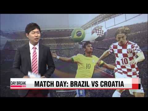 Match 1, Brazil vs Croatia