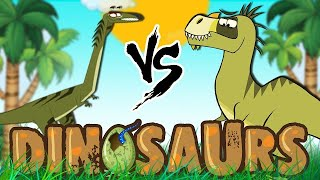 Dinosaur Cartoons for Children   Elaphrosaurus & More   Learn Dinosaur Facts with I