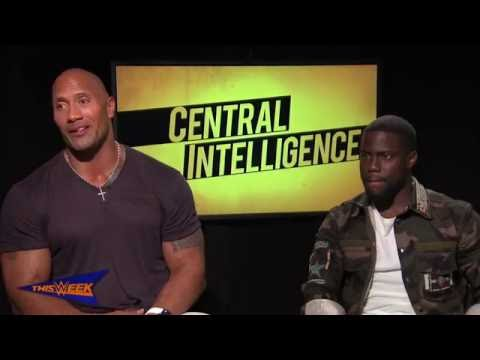"""The Rock and Kevin Hart give an inside look at """"Central Intelligence"""""""