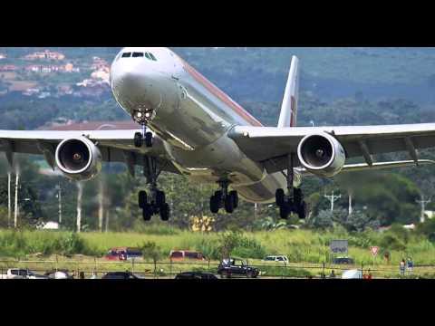 Impresionante aterrizaje IBERIA vuelo 6313 en San José, Costa Rica