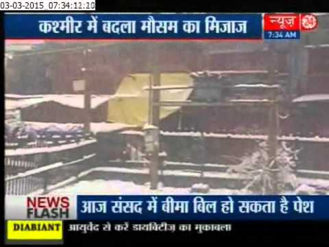 News24 exclusive: Kashmir Valley receives heavy rainfall,snowfall