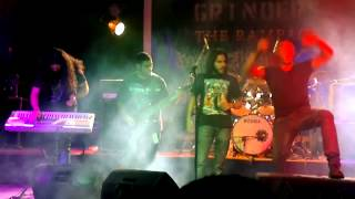 "Segadoras live at ""Metal Grinders"" in Egypt"