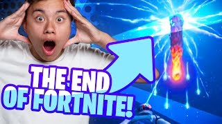 "THE END OF FORTNITE! | ""The End"" Event Reaction (INSANE!)"